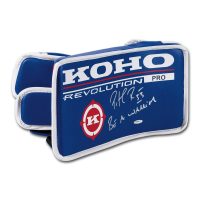 "Patrick Roy Signed KOHO Revolution Goalie Blocker Inscribed ""Be a Warrior"" (UDA COA)"