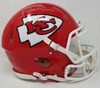 "Patrick Mahomes Signed Kansas City Chiefs Limited Edition Full-Size Speed Helmet Inscribed ""18 MVP"" (Steiner COA)"