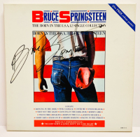 "Bruce Springsteen Signed ""The Born in the USA Single Collection"" Box Set Cover (JSA LOA)"
