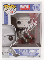 "Stan Lee Signed ""Silver Surfer"" #19 Funko Pop! Bobble-Head Figure (Lee Hologram & Radtke COA)"