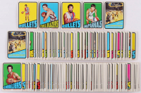Lot of (222) 1972-73 Topps Basketball Cards with #228 Bob Netolicky, #157 Leroy Ellis, #26 Larry Steele RC, #61 Dorie Murrey, #120 Archie Clark