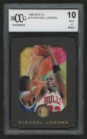 1995-96 E-XL #10 Michael Jordan (BCCG 10)