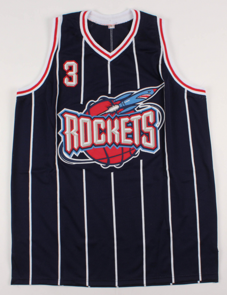 7e2a5b31370 Steve Francis Signed Houston Rockets Jersey (JSA COA) at PristineAuction.com