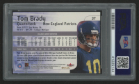 2000 Impact #27 Tom Brady RC (PSA 10) at PristineAuction.com