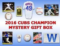 2016 Chicago Cubs World Champs Mystery Autograph Gift Box – Series 6 (Limited to 108)