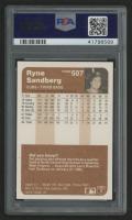 1983 Fleer #507 Ryne Sandberg RC (PSA 9) at PristineAuction.com