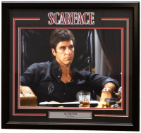 "Al Pacino Signed ""Scarface"" 22x27 Custom Framed Photo Display (Beckett COA)"