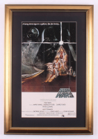 """Star Wars: Episode IV -  A New Hope"" 17.5x25.5 Custom Framed Movie Poster Display"