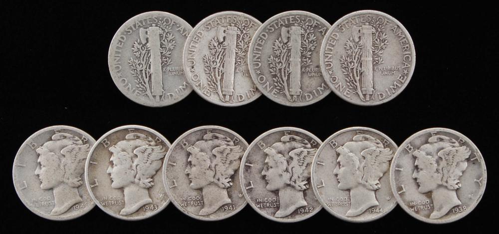 MER Mercury coin