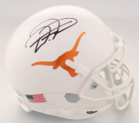 D'Onta Foreman Signed Texans Longhorns Mini Helmet (TriStar Hologram) at PristineAuction.com