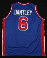 "Adrian Dantley Signed Team USA Jersey Inscribed ""76 Gold"" (JSA COA)"