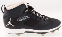 Derek Jeter Signed Air Jordan Shoe (Steiner COA)