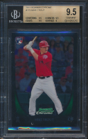 2011 Bowman Chrome #175 Mike Trout RC (BGS 9.5)