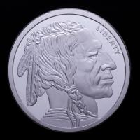 2 oz Buffalo Silver Bullion Round