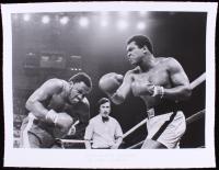 """The Hulton Archive - Muhammad Ali vs. Joe Frazier """"The Thriller in Manila"""" Limited Edition 17x22 Fine Art Giclee on Paper #/375 (PA LOA & PCV COA)"""