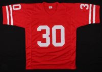 "Mike Rozier Signed Nebraska Cornhuskers Jersey Inscribed ""Heisman 1983"" (PSA Hologram) at PristineAuction.com"