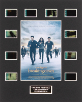 """The Twilight Saga: Breaking Dawn Part 2"" LE 8x10 Custom Matted Original Film / Movie Cell Display"