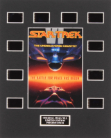 """""""Star Trek: The Undiscovered Country"""" LE 8x10 Custom Matted Original Film / Movie Cell Display"""
