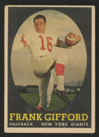 1958 Topps #73 Frank Gifford