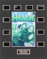 """Hulk"" LE 8x10 Custom Matted Original Film / Movie Cell Display"