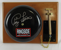 George Foreman Signed Authentic Ringside Boxing Bell (Foreman COA)