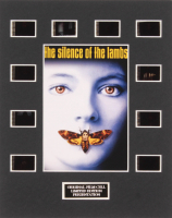 """The Silence of the Lambs"" LE 8x10 Custom Matted Original Film / Movie Cell Display"