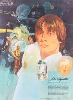 Vintage 1977 Coca Cola Star Wars 18x24 Poster at PristineAuction.com