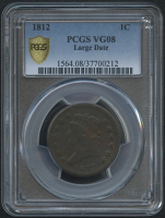 1812 1¢ Classic Head Large Cent (PCGS VG 08) at PristineAuction.com