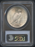 1923 $1 Peace Silver Dollar (PCGS MS 65) (CAC) at PristineAuction.com