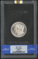 1881-CC $1 Morgan Silver Dollar (NGC MS 63)