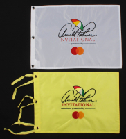 Lot of (2) Arnold Plamer Invitational Golf Pin Flags