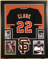 Will Clark Signed 34x42 Custom Framed Jersey (JSA COA) at PristineAuction.com