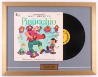 "Walt Disney's ""Pinocchio"" 18.5x24 Custom Framed Vinyl Record Album Display"