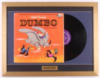 "Walt Disney's ""Dumbo"" 18.5x24 Custom Framed Vinyl Record Album Display"