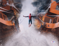 "Tom Holland Signed ""Spider-Man"" 11x14 Photo (PSA COA) at PristineAuction.com"
