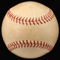 1930's Pittsburgh Pirates & Philadelphia Phillies Players & Coaches Baseball Signed by (5) with Honus Wagner, Chuck Klein (JSA LOA)