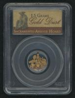 Gold Dust 1.5 Grams Sacramento Assayer Hoard (PCGS Genuine) at PristineAuction.com