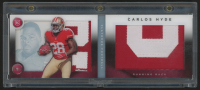 2014 Panini Playbook Jerseys Platinum #152 Carlos Hyde with Protective Case