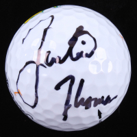 Justin Thomas Signed Masters Golf Ball (JSA COA)