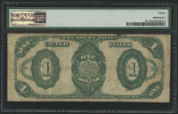1891 $1 One Dollar U.S. Treasury Large Bank Note (PMG 15) at PristineAuction.com