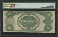 1891 $10 Ten Dollars Silver Certificate Large Size Bank Note (PMG 12) at PristineAuction.com