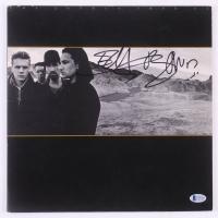 "Bono & The Edge Signed U2 ""The Joshua Tree"" Vinyl Record Album Cover (Beckett COA)"