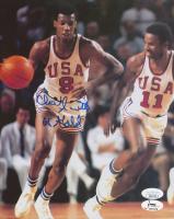 "Charlie Scott Signed Team USA 8x10 Photo Inscribed ""68 Gold"" (JSA COA)"