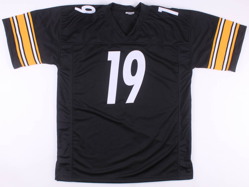 50ba6c0236a JuJu Smith-Schuster Signed Pittsburgh Steelers Jersey (Beckett COA) at  PristineAuction.com