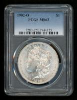 1902-O Morgan Silver Dollar (PCGS MS62)