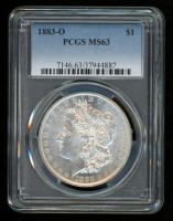 1883-O Morgan Silver Dollar (PCGS MS63)