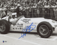 A.J. Foyt Signed 8x10 Photo (Beckett COA)