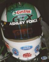 Ashley Force Signed 8x10 Photo (Beckett COA)