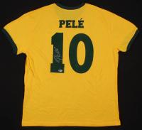 Pele Signed Brazil Jersey (Beckett COA)