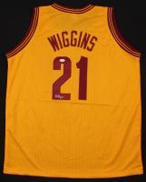 Andrew Wiggins Signed Cleveland Cavaliers Jersey (JSA COA)